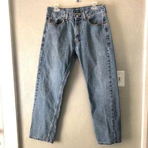 Levi Strauss Vintage Light Wash 505 Jeans W32 L30